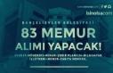 Bahçelievler Belediyesi 7 Farklı Kadroda 83 Memur...