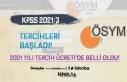 KPSS 2021/3 Tercihleri İle Memur Alımı Başladı!...