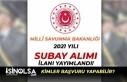 Milli Savunma Bakanlığı TSK Muvazzaf Subay Alımı...