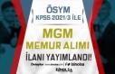 ÖSYM KPSS 2021/3 Tercih Kılavuzu İle MGM Memur...