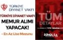 Türkiye Diyanet Vakfı KPSS A İle 10 Lisans ve Lise...