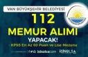 Van Büyükşehir Belediyesi 7 Unvanda KPSS En Az...