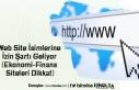 Web Site İsimlerine İzin Şartı Geliyor (Ekonomi-Finans...