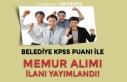 Kırklareli Büyükmandıra Belediyesi KPSS Puanı...