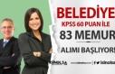 KPSS 60 Puan İle Belediye Memur Alımı Yapacak!...
