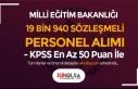 MEB KPSS En Az 50 Puan İle 19 Bin 940 Sözleşmeli...