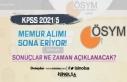 Çevre Bakanlığı KPSS 2021/5 İle Memur Alımı...