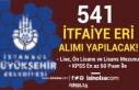 İBB 541 İtfaiye Eri Alımı İlanı 2021 - Kadın...