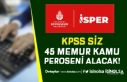 İBB İSPER KPSS siz 45 Memur Kamu Personeli Alım...