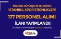 İBB İstanbul Spor Etkinlikleri 177 Antrenör ve...