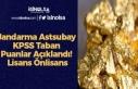 Jandarma Astsubay KPSS Taban Puanlar Açıklandı!...