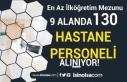 9 Alanda 130 Hastane Personeli Alımı ( Hasta Kayıt...