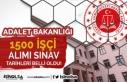 Adalet Bakanlığı 1500 İşçi Alımı Sözlü Sınav...