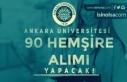 Ankara Üniversitesi 90 Sözleşmeli Hemşire Alımı...