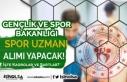 GSB 2021 Yılı Spor Uzmanı Alımı Başvuru Şartları...
