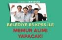 Gürçayır Belediyesi 65 KPSS İle Ön Lisans Mezunu...