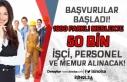 İŞKUR ile 1600 Farklı Meslekte 50 Bin Memur, Personel...