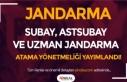 Jandarma Subay, Astsubay ve Uzman Jandarma Atama Yönetmeliği...