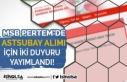 Milli Savunma Bakanlığı Astsubay Alımı Hakkında...