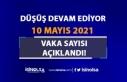 Tam Kapanma Devam Ederken 10 Mayıs Vaka Tablosunda...