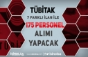TÜBİTAK 7 Farklı Birimine 175 Personel Alımı...