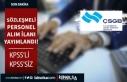 Çalışma ve Sosyal Güvenlik Bakanlığı 12 Sözleşmeli...