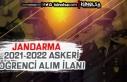 Jandarma 2021 - 2022 Yılı JSGA Yeni Özel Askeri...