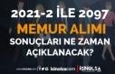 2828 Sayılı Kanun ile 2021-2 Memur Alımı ( 2097...