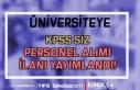 Adnan Menderes Üniversitesi KPSS siz 2 Eczacı Alımı...