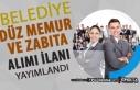 Akşehir Belediyesi 60 KPSS Puanı İle 17 Düz Memur...