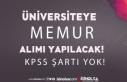 Batman Üniversitesi KPSS siz Memur Alımı İlanı...