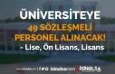 Bilecik Şeyh Edebali Üniversitesi 49 Sözleşmeli...