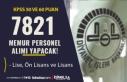 Diyanet İşleri Başkanlığı 7821 Memur Personel...