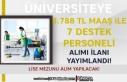 Gümüşhane Üniversitesi 3.788 TL Maaş İle Lise...