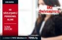 İki Üniversiteye 40 Sözleşmeli Personel Alımı...