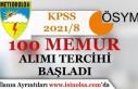 KPSS 2021/8 Tercih Kılavuzu Yayımlandı! Tarım...