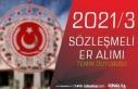 MSB Kuvvet Komutanlıkları 2021/3 Sözleşmeli Er...