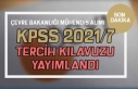 ÖSYM KPSS 2021/7 Tercih Kılavuzu Yayımladı! ÇŞB...