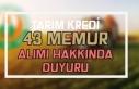 Tarım Kredi İzmir Bölge Birliği Memur Alımı...