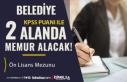 Yeni Belediye İlanı: Ayniyat ve Ambar Memuru Alımı...