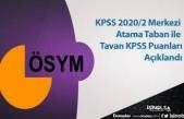 KPSS 2020/2 Merkezi Atama Taban ile Tavan KPSS Puanları Açıklandı
