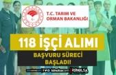 Tarım Bakanlığı 118 Kadrolu İşçi Alımı Başvurusu İŞKUR'da Başladı!