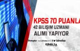 Eylül'de Kamuya En Az 70 KPSS Puanı ile 42 Bilişim Personeli Alınıyor