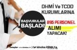 DHMİ ve TCDD Kadro Dağılımı Belli Oldu! 895 Personel Alımı Yapılacak!