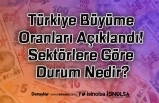 Türkiye Büyüme Oranları Açıklandı! Sektörlere Göre Durum Nedir?