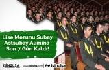 Lise Mezunu Subay-Astsubay Alımına Son 7 Gün Kaldı!