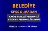 Çorum Belediyesi KPSS siz Çağrı Merkezi Personeli ve Kamu Personeli Alıyor