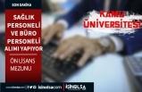 Karamanoğlu Mehmetbey Üniversitesi 4 Büro ve Sağlık Personeli Alım İlanı
