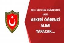 Milli Savunma Üniversitesi (MSÜ) Askeri Öğrenci Alımı Başvuruları Başladı!