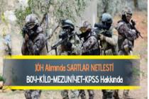 2019 JÖH Alımı için Mezuniyet, Yaş, KPSS ve Askerlik Şartı Netleşti
